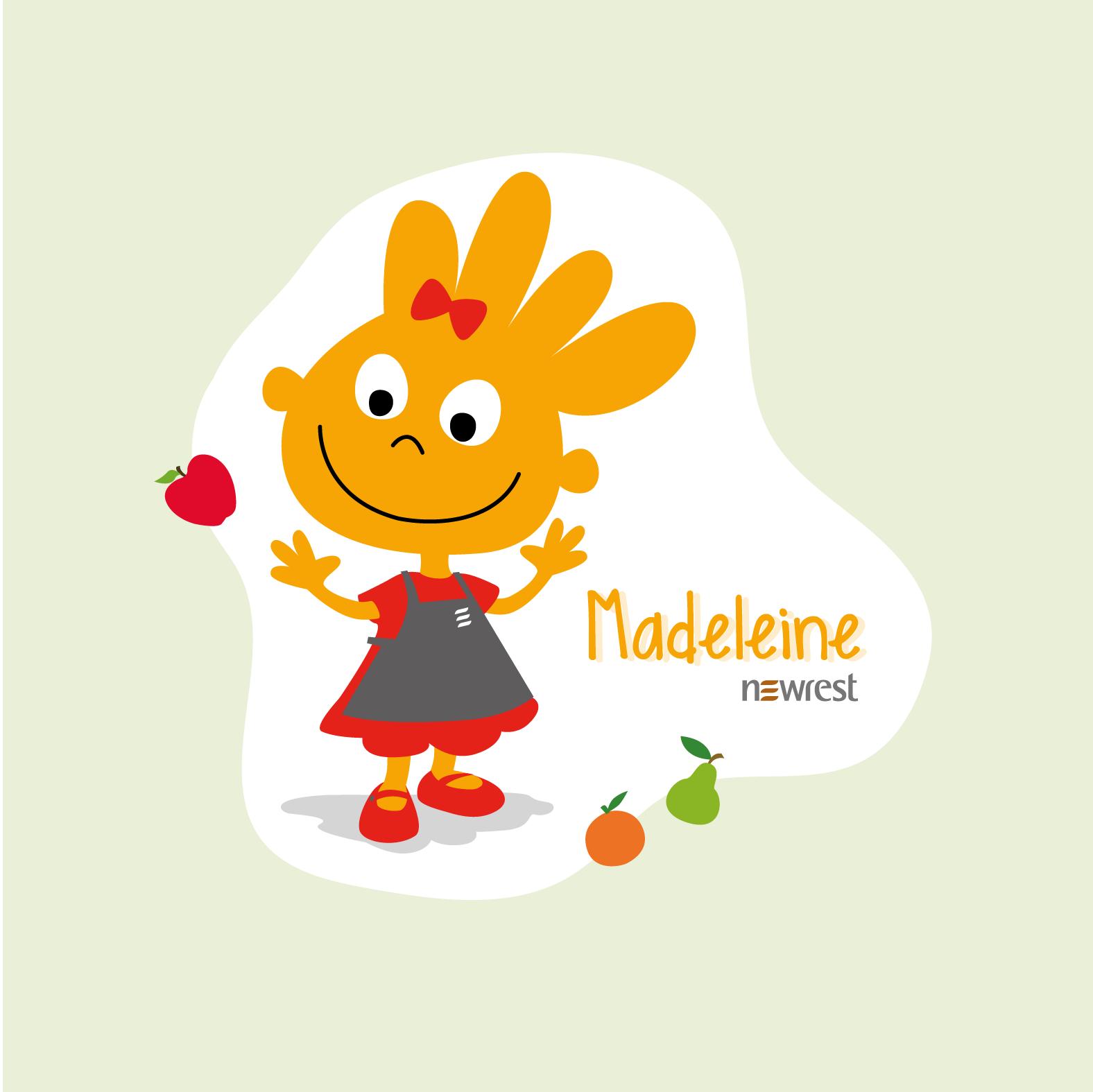 Menu de la semaine Madeleine