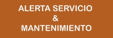 Alerta Servicio y Mantenimiento